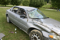 Tori Leah Adams was arrested and taken to the Macon County Jail following this single vehicle accident on Sunday afternoon, July 22nd.