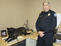 Lafayette Police Dept. K-9 Jackyl and Officer Henry Behr (Photo by: J. Williams)