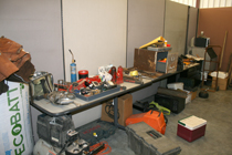 Pictured above is a portion of the stolen items recovered by the Macon County Sheriff's Department.
