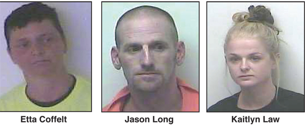 Trio Arrested in Kentucky