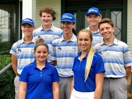 MCHS District Golf Results