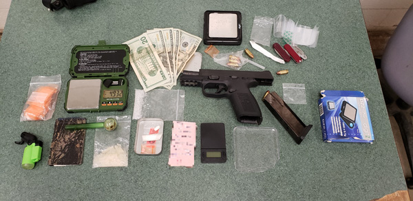 Deputy Apprehends Wanted Man: Gun & Meth Found