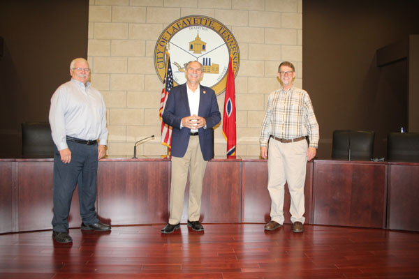 Senator Mark Pody Visits Macon County