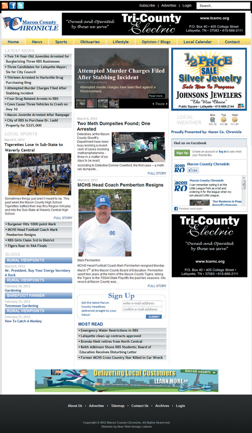 The Macon County Chronicle