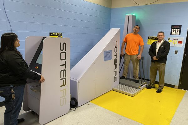 Imaging Machine to Deter Inmates From Bringing Contraband Into Jail