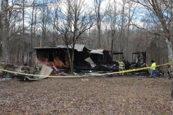 House Fire Claims Lives of Mother & Two Children