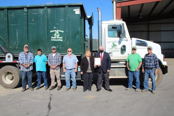 November is Recycling Month in Macon County