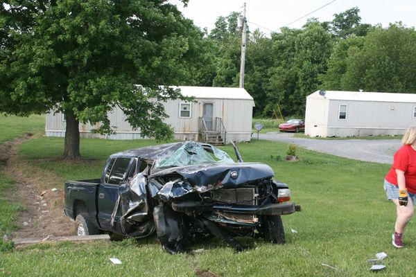 Saturday Crash Injures Four