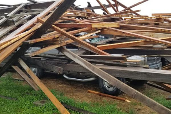 Damaging Storms Hit Macon County