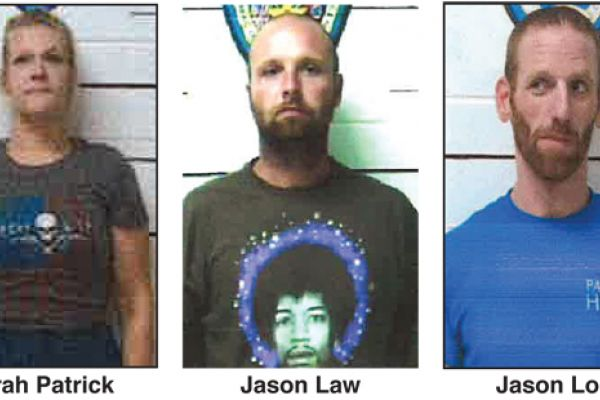Trio of Suspects Arrested After Running Out of Gas